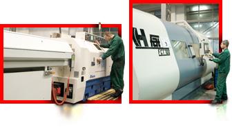Centrum tokarsko-frezerskie japońskiej firmy MIYANO oraz nowoczesne centrum tokarskie na potrzeby produkcji elementów siłowników hydraulicznych