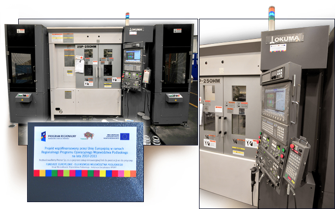 Rozbudowa firmy Pronar Sp. z o. o.<br /><br /><br /> poprzez zakup innowacyjnej linii do produkcji osi do przyczep